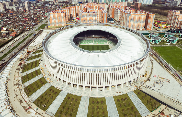 Стадион футбольного клуба 'Краснодар'
