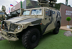 Tigr armored vehicle