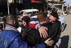 Жители Мосула празднуют освобождение восточной части города