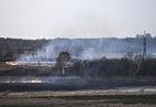 Полевые пожары в Искитимском районе Новосибирской области