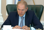 Head of Russia's Federal Fisheries Agency Andrei Krainy
