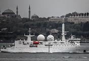 French reconnaissance ship Dupuy de Lome