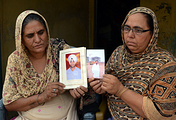 Mothers of the kidnapped workers