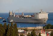 The US chemical laboratory ship MV Cape Ray