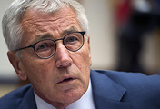 US Secretary of Defense Chuck Hagel