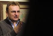 Lviv's mayor Andriy Sadovy