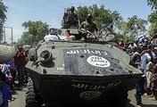 Boko Haram armoured vehicle