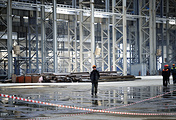 Zvezda shipyard construction