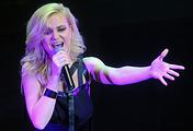 Russian pop singer Polina Gagarina