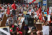 "The protesters memory ""The Immortal regiment"""