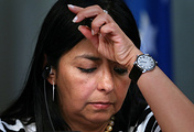 Venezuela's Foreign Minister Delcy Rodriguez