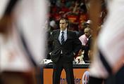 David Blatt, the head coach of Cleveland Cavaliers