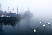 Rescue boats of Baltic Fleet