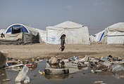A camp for internally displaced people in Iraq (archive)