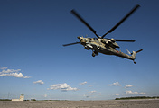Mil Mi-28N combat helicopter