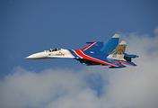 Su-27 plane