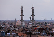 A view of the Syrian city of Homs