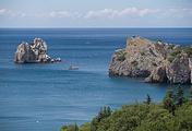 The Crimean peninsula
