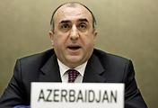 Azerbaijan's Foreign Minister Elmar Mammadyarov
