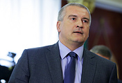 Head of Russia's Republic of Crimea Sergei Aksyonov