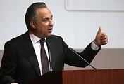 Sports Minister Vitaly Mutko