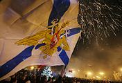 Celebrations in Crimea after referendum, 2014