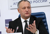 Moldova's President Igor Dodon