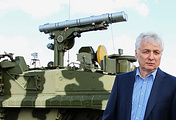 Iskander system's designer Valery Kashin