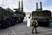Bastion coastal defence missile system (right)