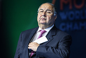 Russian businessman Alisher Usmanov