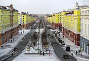 Norilsk, a city in Russia's Krasnoyarsk region