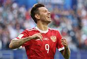 Russian national team's forward Fyodor Smolov