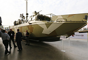BK-16, a high speed landing boat developed by the Kalashnikov group