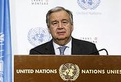 United Nations Secretary General Antonio Guterres