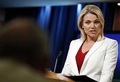 US Department of State Spokesperson Heather Nauert