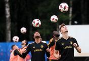 Players of Belgium national team