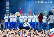 Russian football team