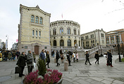 Norwegian Parliament in Oslo