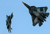 Su-57 fighter jets