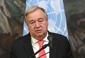 UN Secretary General Antonio Gutteres