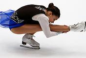 Russian figure skater Sofia Samodurova