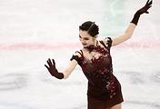 Figure skater Evgenia Medvedeva