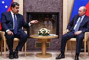 Venezuelan President Nicolas Maduro and Russian President Vladimir Putin