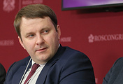Russian Minister of Economic Development Maxim Oreshkin