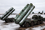 Anti-aircraft missile systems S-400