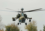 A Mi-28N helicopter