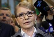 Leader of Ukraine's Batkivshchina party Yulia Timoshenko