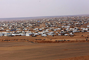 Rukban camp for displaced Syrians