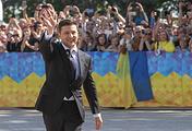 Ukrainian President Vladimir Zelensky