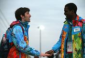 Волонтеры на Паралимпиаде в Сочи